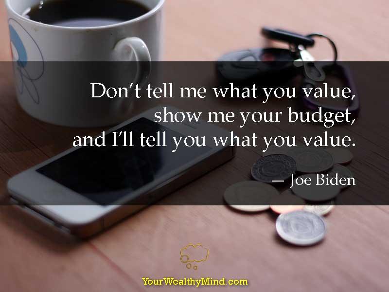 Quote-budget-value