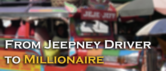 From Jeepney Driver to Millionaire yourwealthymind your wealthy mind