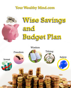 Your Wealthy Mind Savings and Budget Plan (Tagalog)
