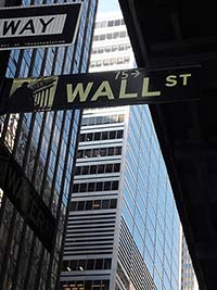 wall street sign pixabay