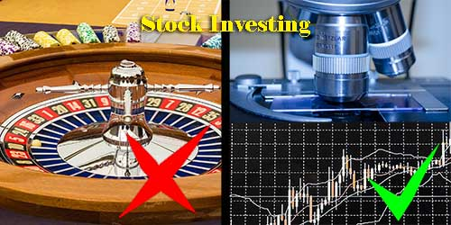 stock investing is NOT gambling yourwealthymind your wealthy mind