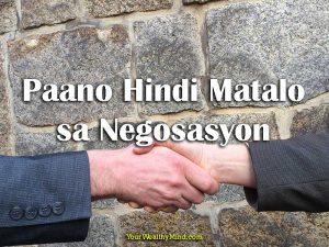 Paano Hindi Matalo sa Negosasyon: Mag-Isip Para Manalo