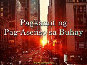 Pagkamit ng Pag-Asenso sa Buhay