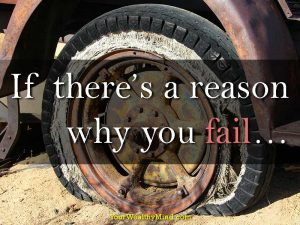 If there's a reason why you fail…