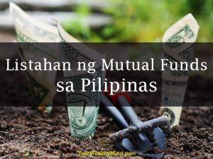 Listahan ng Mutual Funds sa Pilipinas