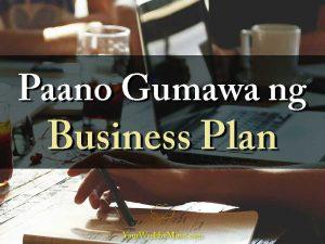 Paano Gumawa ng Business Plan