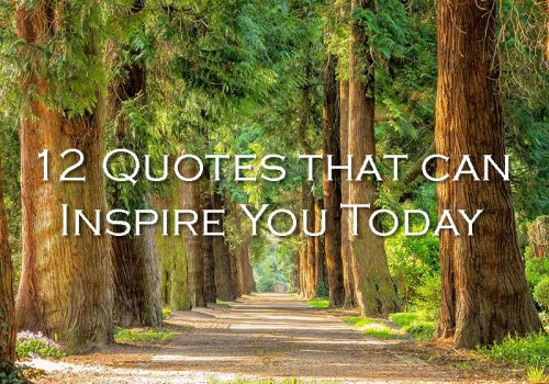 12 Quotes that can Inspire You Today - Your Wealthy Mind