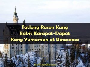 Tatlong Rason Kung Bakit Karapat-Dapat Kang Yumaman at Umasenso