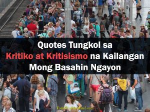 Quotes Tungkol sa Kritiko at Kritisismo na Kailangan Mong Basahin Ngayon Your Wealthy Mind