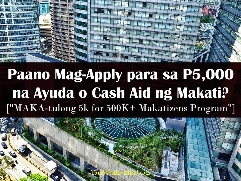 makatizen ayuda makatulong cash aid p5000